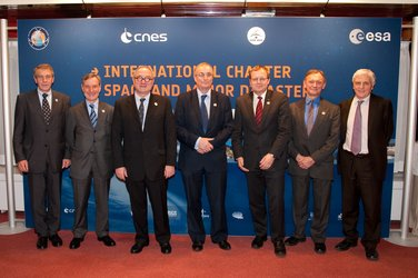 Celebration of the 10th Anniversary International Charter Space & Major Disasters