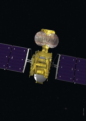 Hylas-1 Ka- and Ku-band antennas