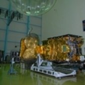 Hylas-1 double antenna