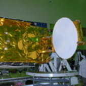 Hylas-1 during tests