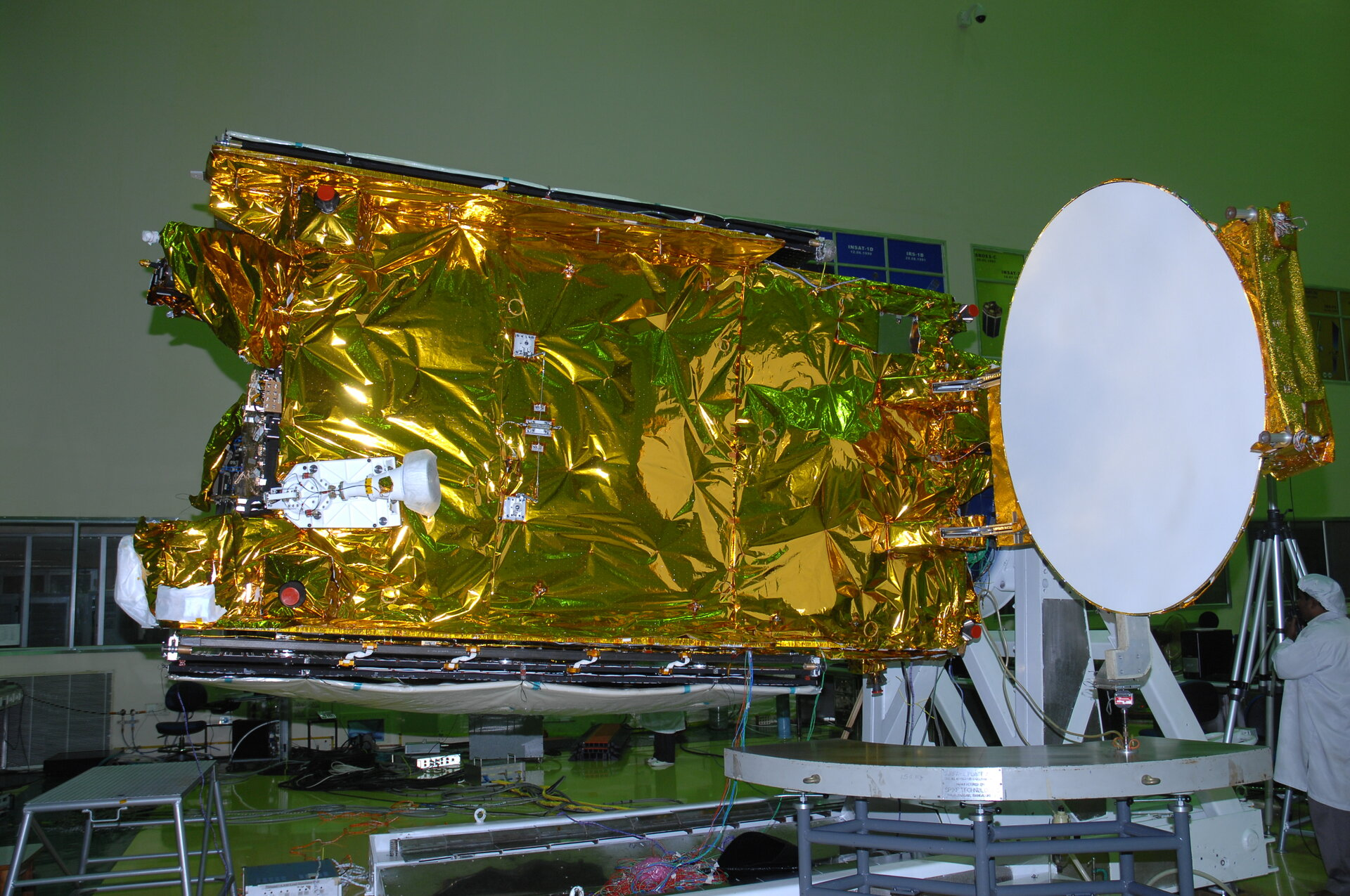 Hylas-1 Ku-band antenna