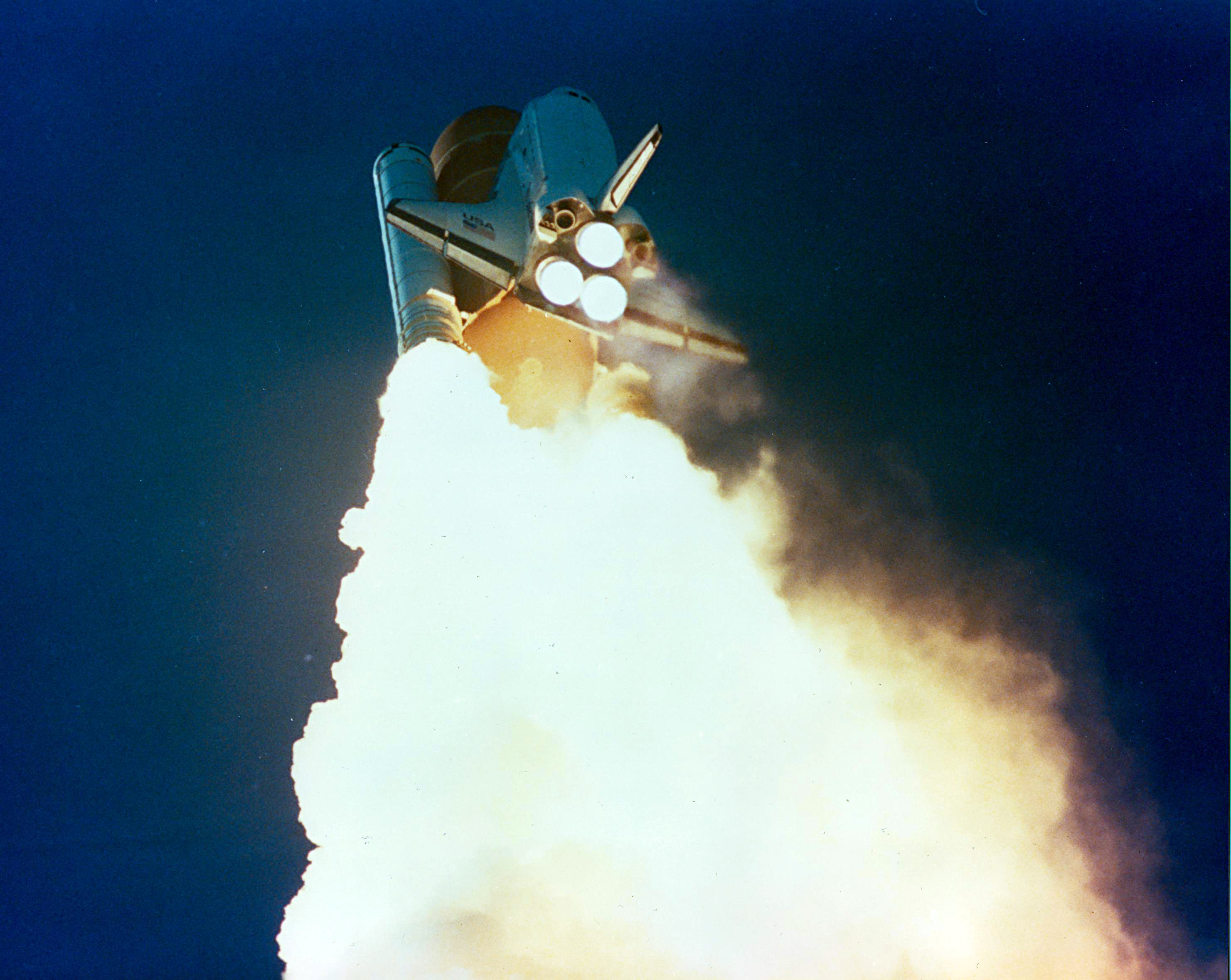 space shuttle explosion 1985 - photo #32