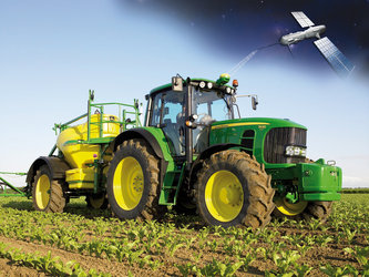Satellites used to guide farming