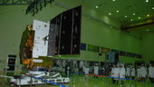 Hylas-1 solar array, telecommunications, satellite