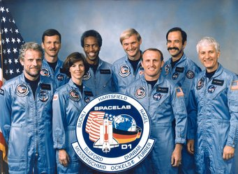 The STS-61A Spacelab D1 crew