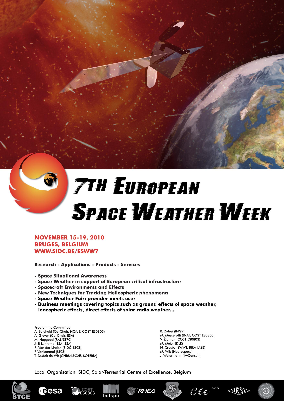 european space weather week - HD1754×2480