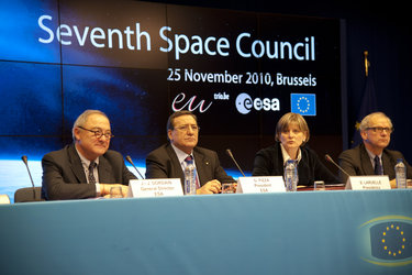 7th Space Council press conference