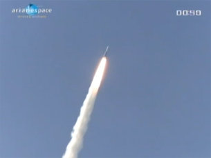 Ariane launching