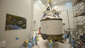 ATV-2 Johannes Kepler ready for mating