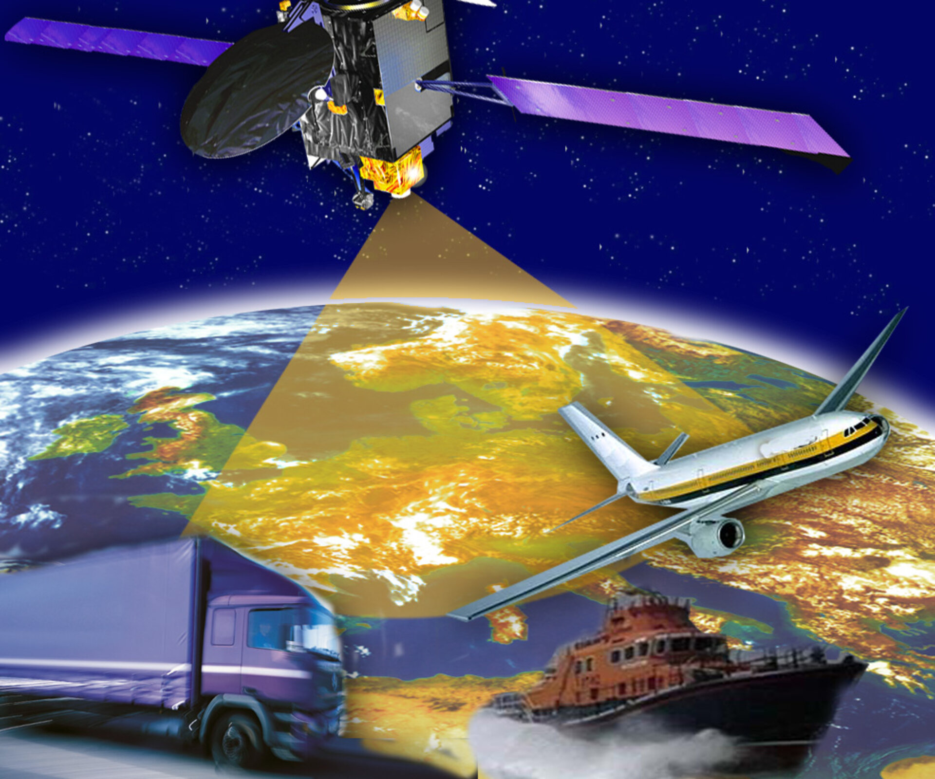 EGNOS sharpens GPS accuracy over Europe