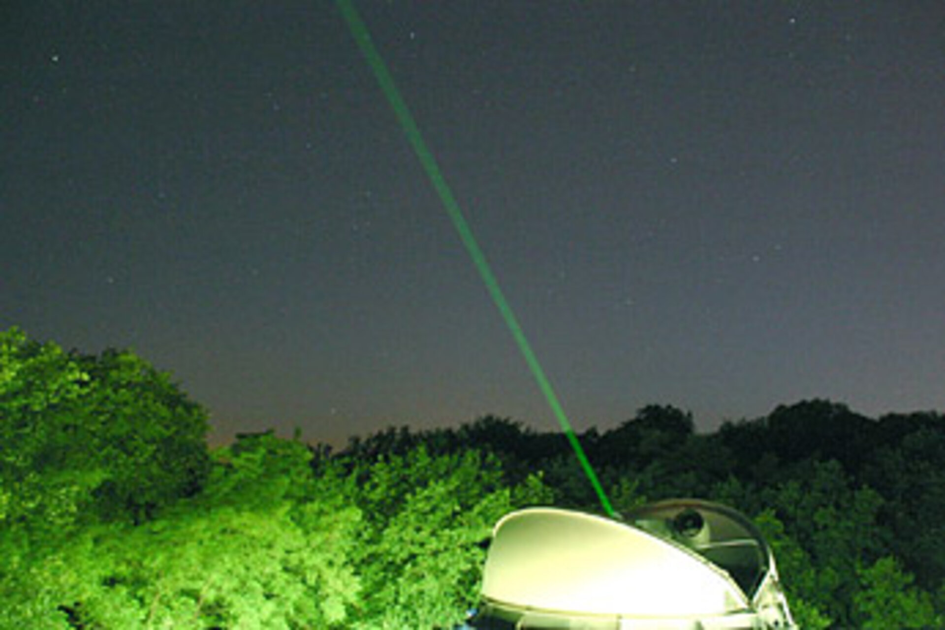 Laser ranging station