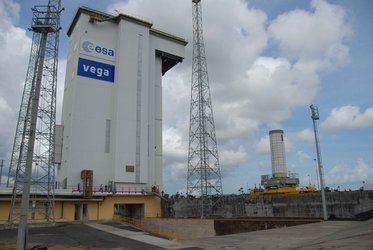 P80 arrives at Vega Launch Zone