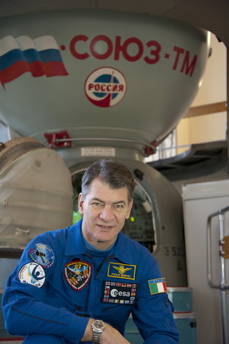 Paolo Nespoli in training at Star City