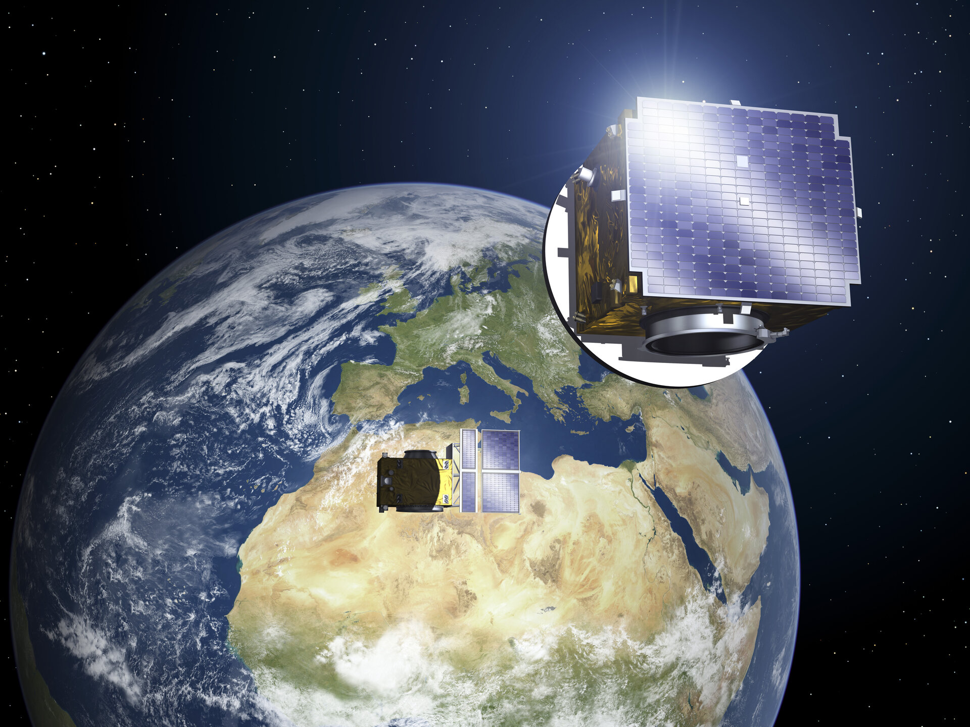Proba-3's pair of satellites