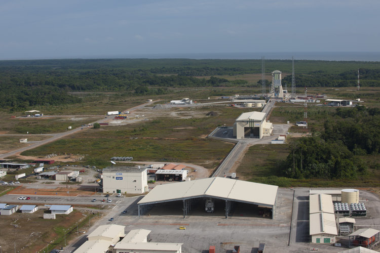 Soyuz launch site