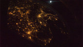 France as seen from ISS