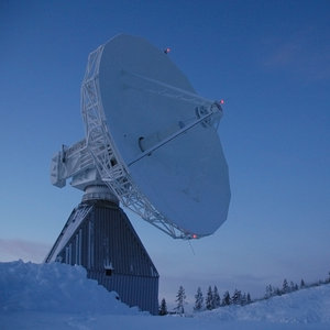 Galileo antenna at Kiruna