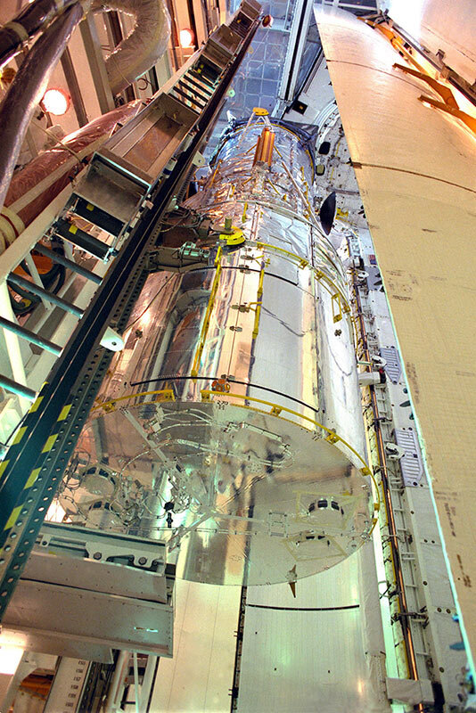 Hubble needed flexible blankets to fit into the Discovery Shuttle's cargo bay