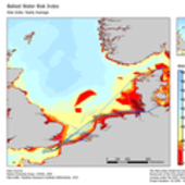 Ballast water risk index