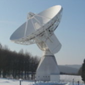 Antenna at ESA's Redu ground station