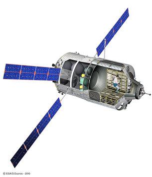 """Lancement Ariane 5 - VA219 / ATV-5 """"Georges Lemaître"""" - 29 juillet 2014 - Page 7 ATV_cutaway_medium"""