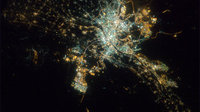 Cairo by night as seen from ISS