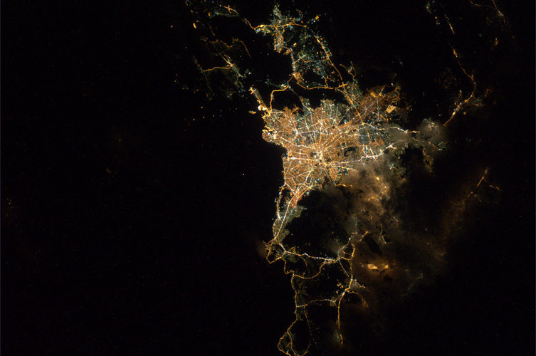 Karachi by night