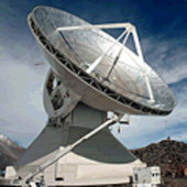 LMT telescope in Mexico
