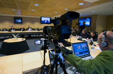 Press conference with ESA's Director General