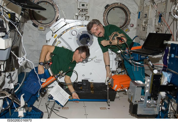Space Station Emergency Drill