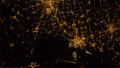 Venice and surroundings by night as seen from ISS