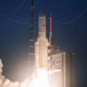 Ariane 5 V195 launcher lifted off