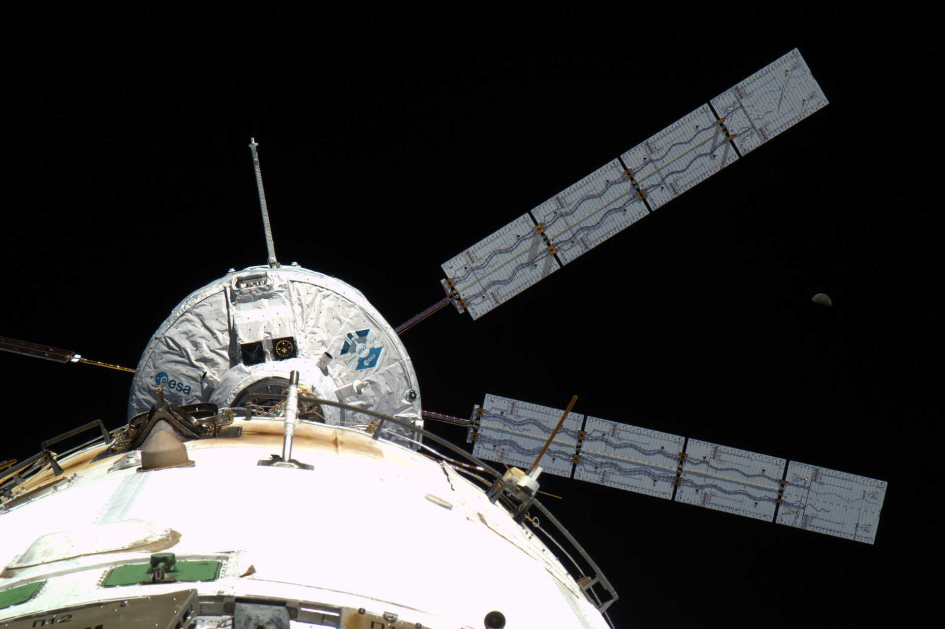 ATV-2 docking with ISS on 24 February 2011