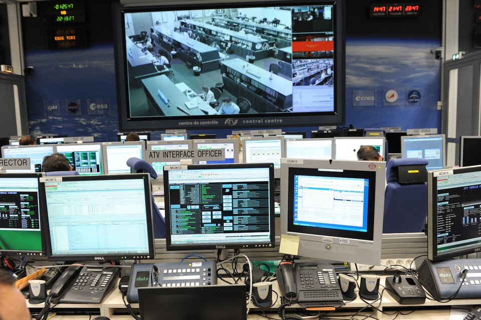 ATV-CC Flight Control Room