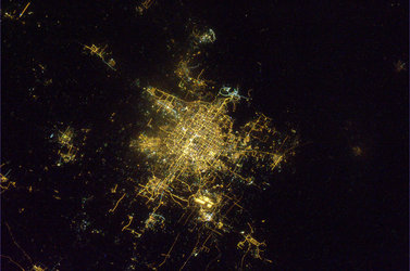 Beijing, China, photographed by Paolo Nespoli