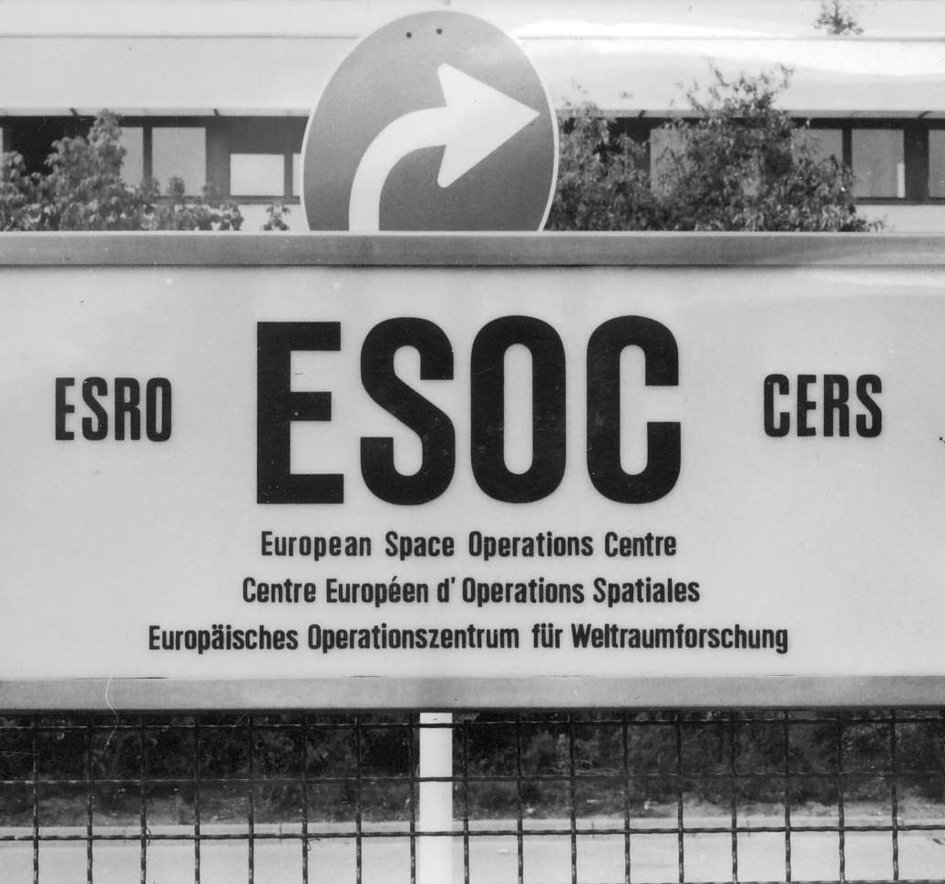 ESOC 1967, recently renamed from ESDAC (European Space Data Centre)