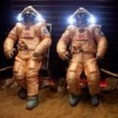 Mars500 crew testing the Orlan suits