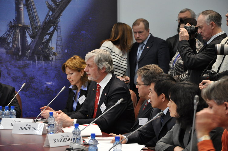 Mars500 press conference on 14 February 2011