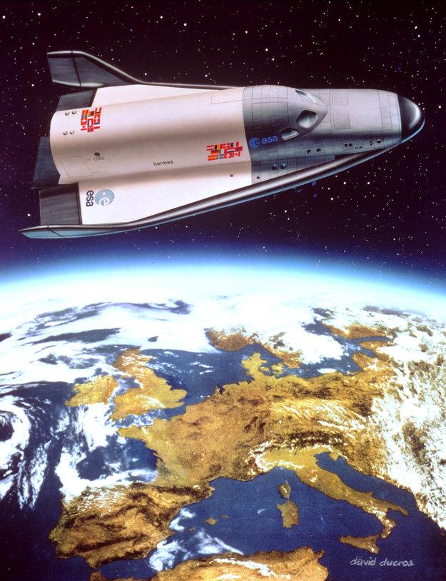 hermes space shuttle - photo #29