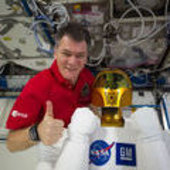 Paolo-1 with Robonaut-2