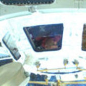 Paolo Nespoli in the Cupola