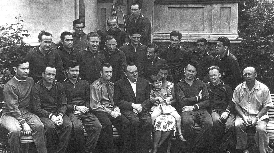 The first cosmonaut group of 1960