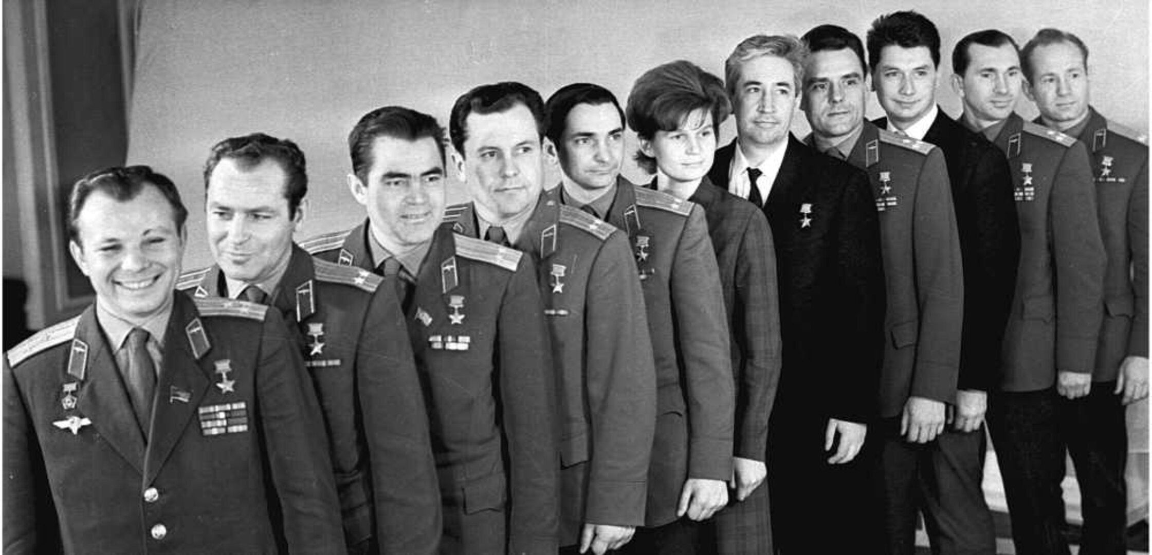 The first cosmonauts