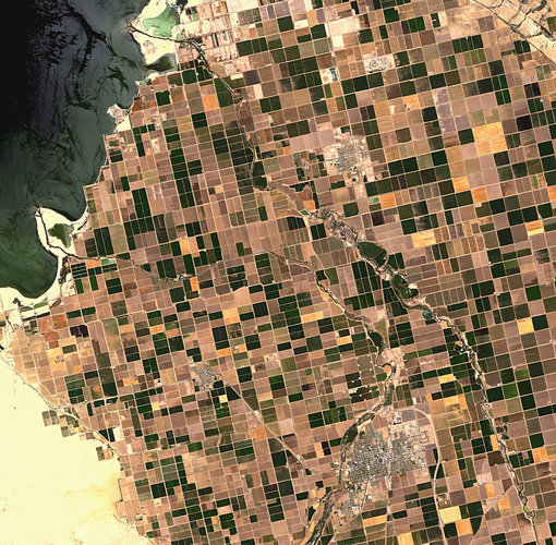 The Imperial Valley in Southern California