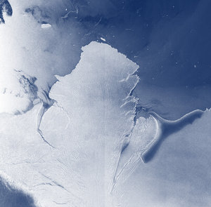 Antarctica ice shelf system