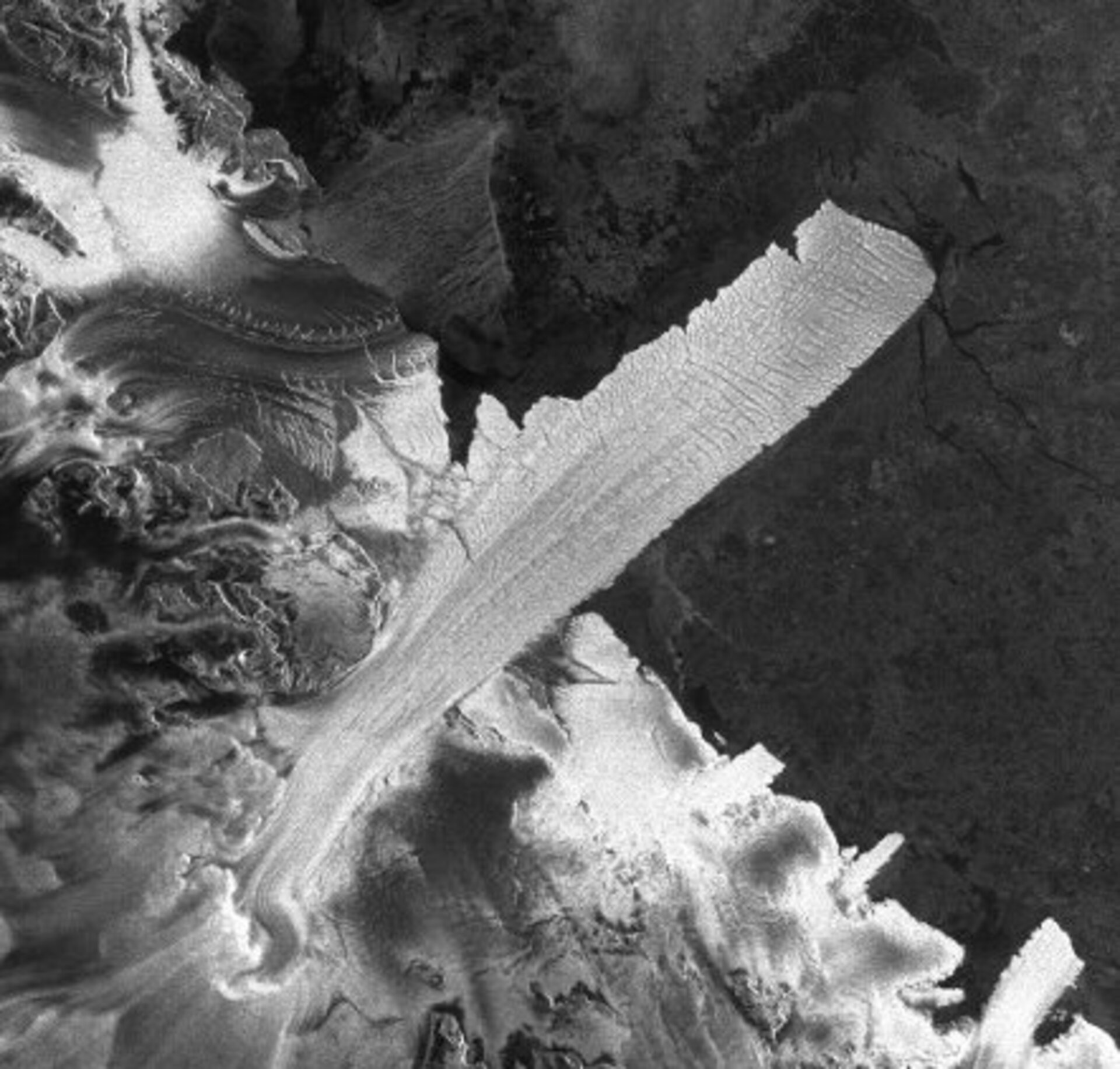 Antarctica's Drygalski Ice Tongue