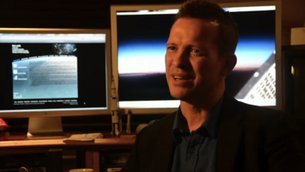 """Making of First orbit"" screen capture"