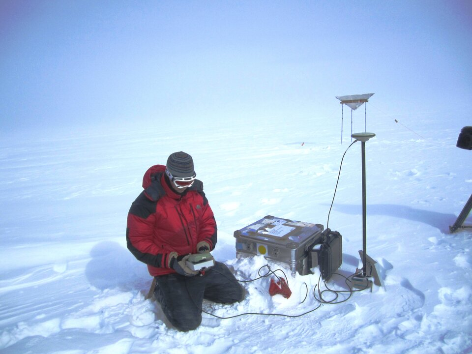 Collecting precise elevation data