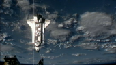 Endeavour approaching ISS