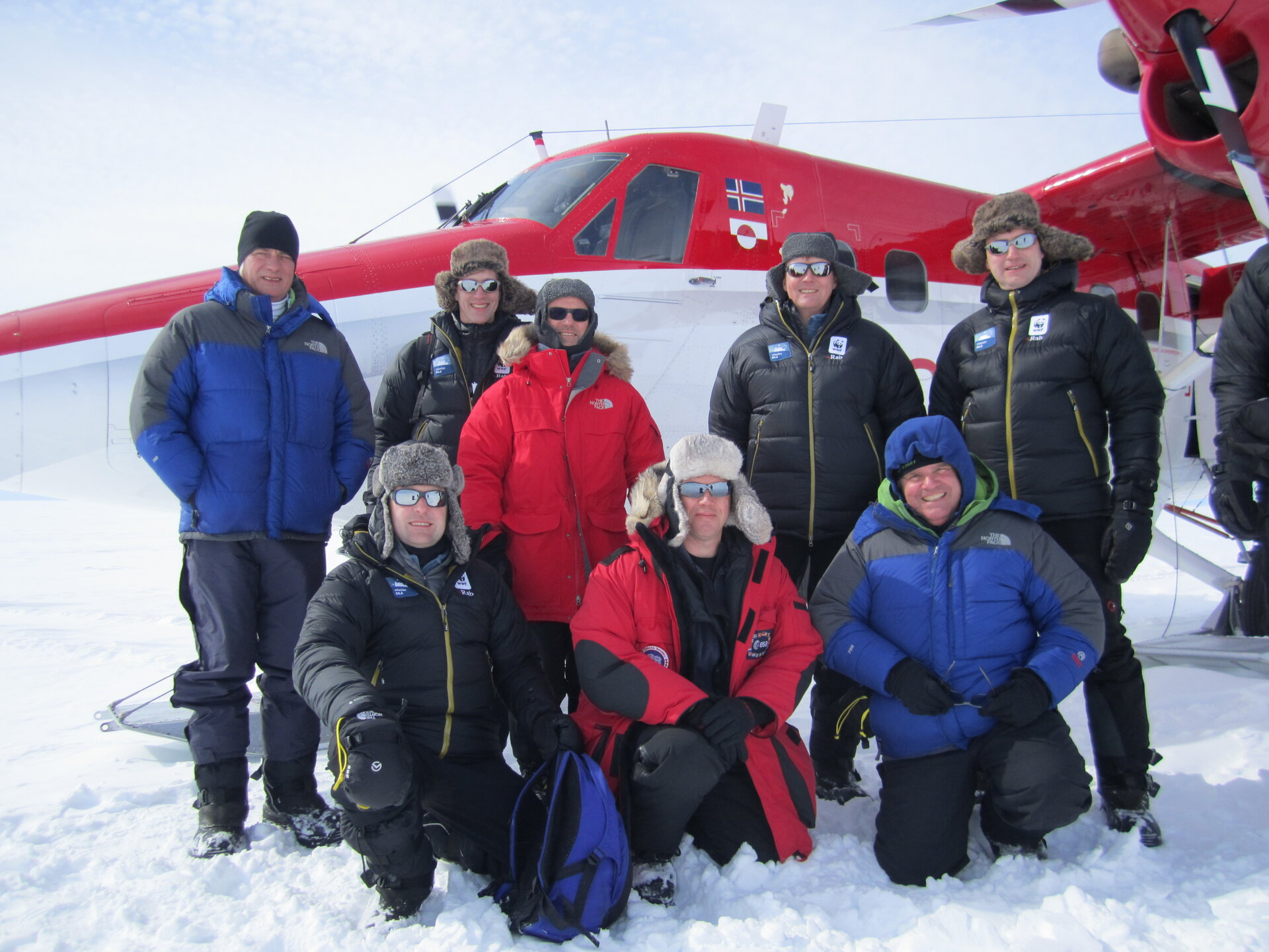 HRH The Prince of Orange visits Greenland